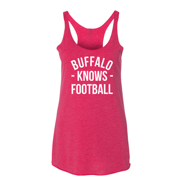 Buffalo Knows Football Women's Tank-Top