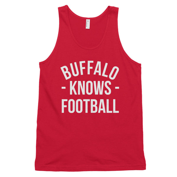 Buffalo Knows Football Tank-Top (Unisex)