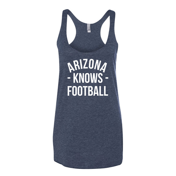 Arizona Knows Football Women's Tank-Top