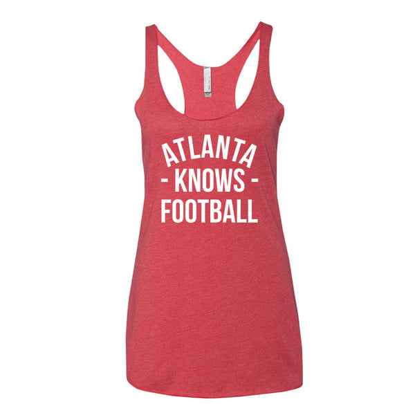 Atlanta Knows Football Women's Tank-Top