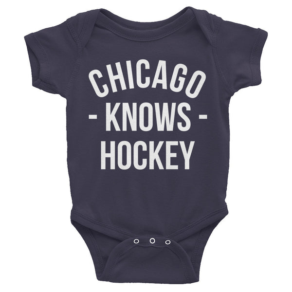 Chicago Knows Hockey Baby Onesie