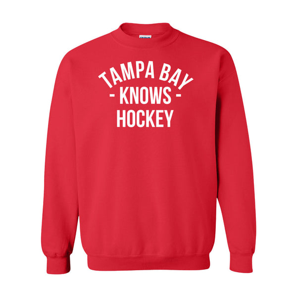 Tampa Bay Knows Hockey Sweater (Unisex)