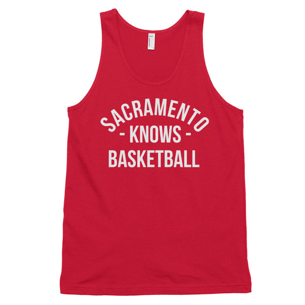 Sacramento Knows Basketball Tank-Top (Unisex)
