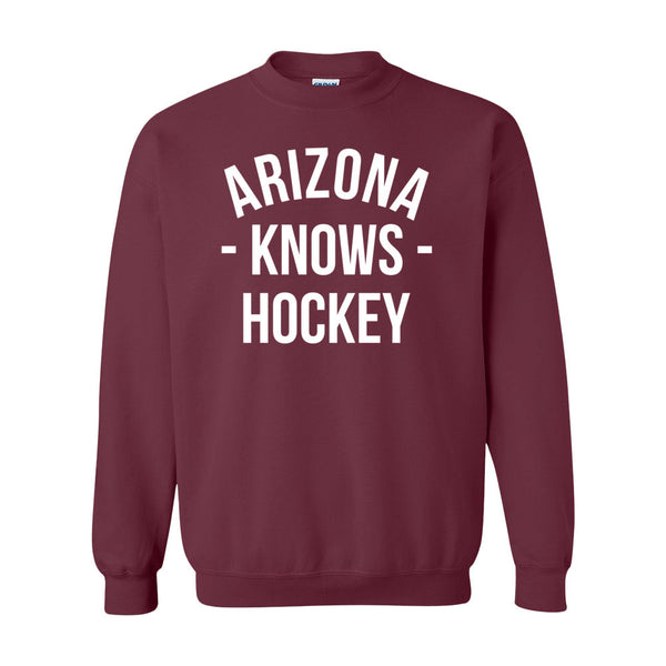 Arizona Knows Hockey Sweater (Unisex)