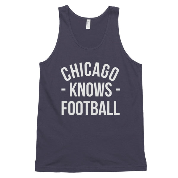 Chicago Knows Football Tank-Top (Unisex)
