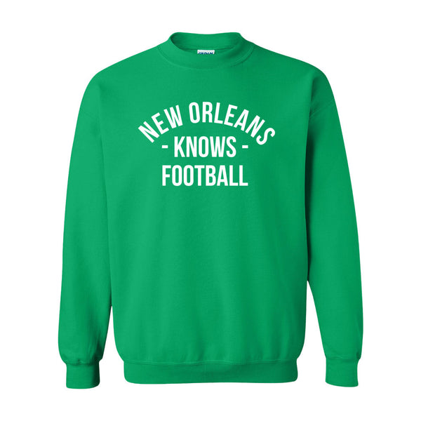 New Orleans Knows Football Sweater (Unisex)