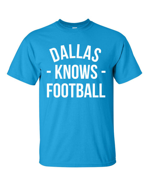 Dallas Knows Football T-Shirt (Unisex)