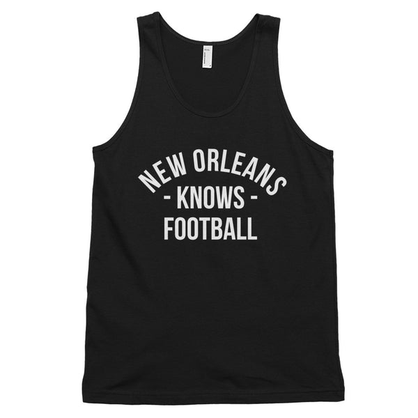 New Orleans Knows Football Tank-Top (Unisex)