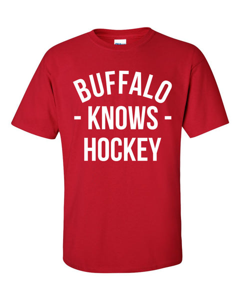 Buffalo Knows Hockey T-Shirt (Unisex)