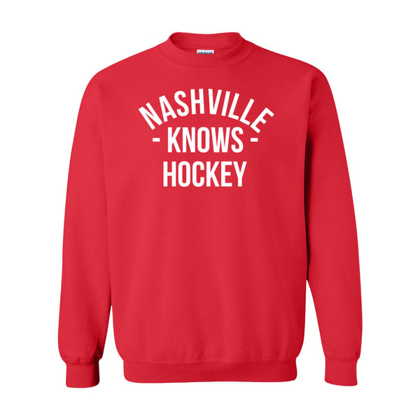 Nashville Knows Hockey Sweater (Unisex)