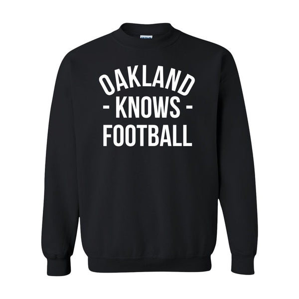 Oakland Knows Football Sweater (Unisex)
