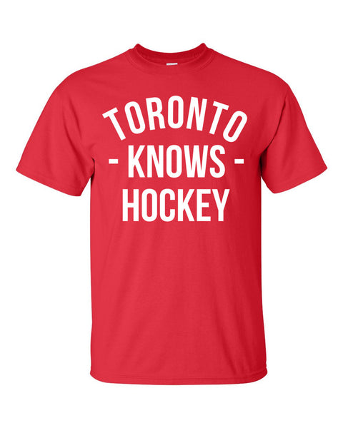 Toronto Knows Hockey T-Shirt (Unisex)
