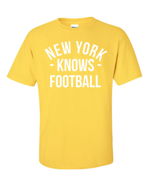 New York Knows Football T-Shirt (Unisex)