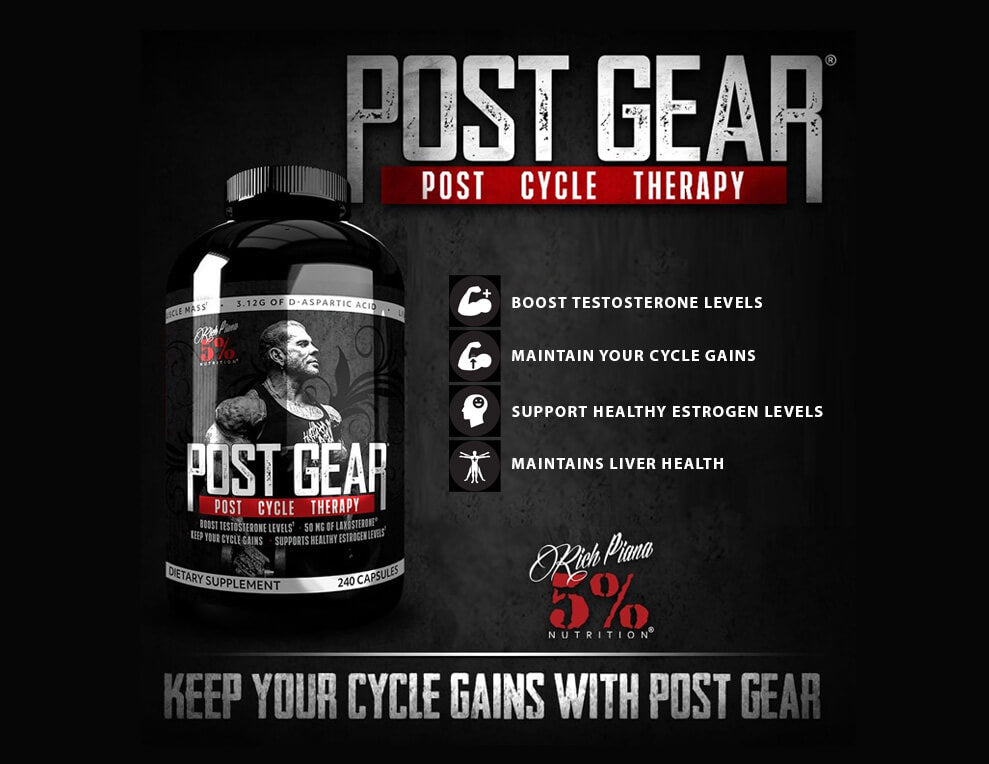 5 Percent Nutrition Post Gear Support