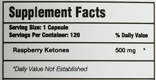 NutraHouse Raspberry Ketones Facts