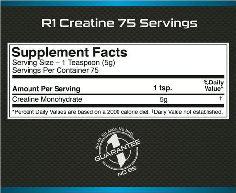 Rule 1 Creatine Facts