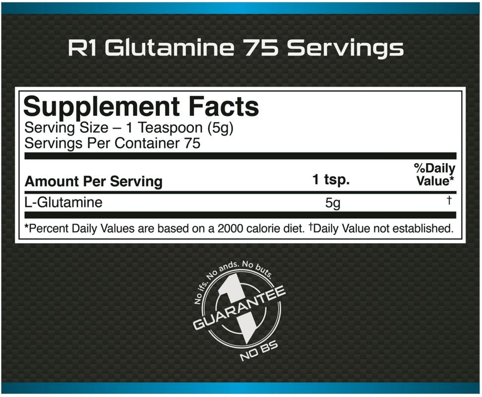 Rule 1 Glutamine Facts