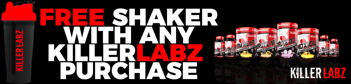 Killer Labz Free Shaker With Every Order