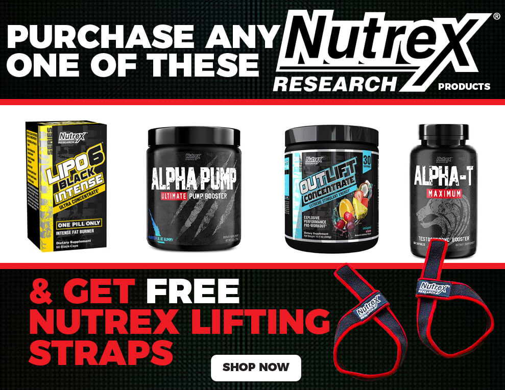 Free Lifting Strap With Nutrex