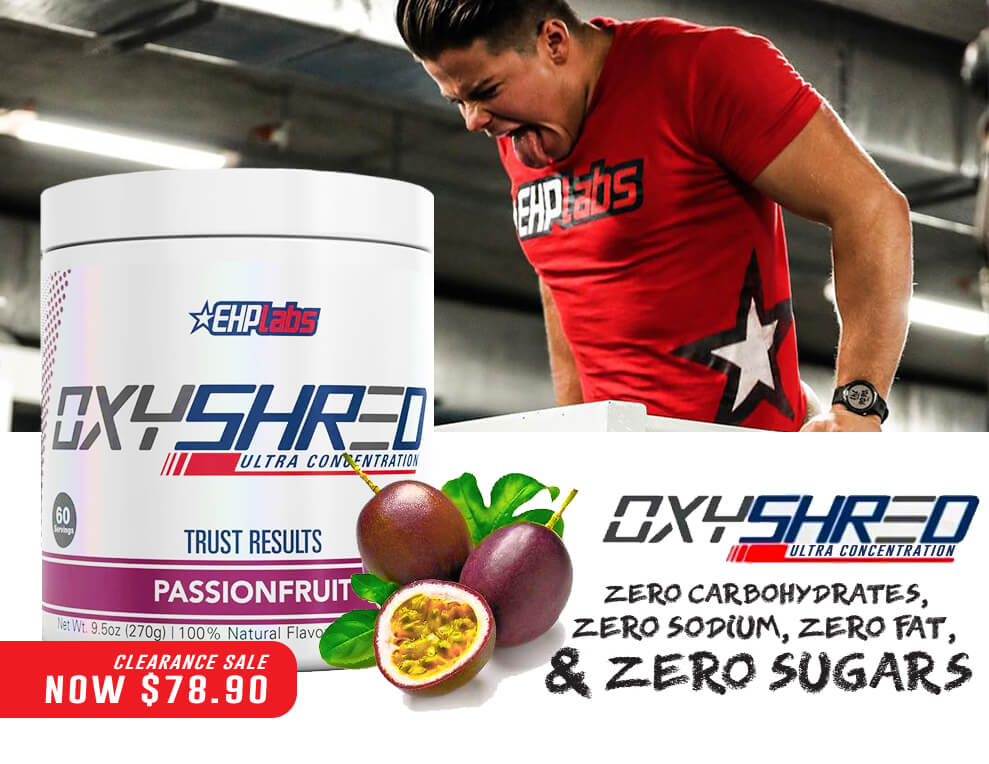 EHP LABS OXYSHRED PASSIONFRUIT BLOW OUT SPECIAL