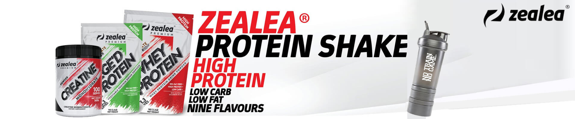 Zealea Whey & Natural Proteins & Supplements