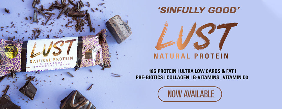 EHP LABS LUST PROTEIN BARS