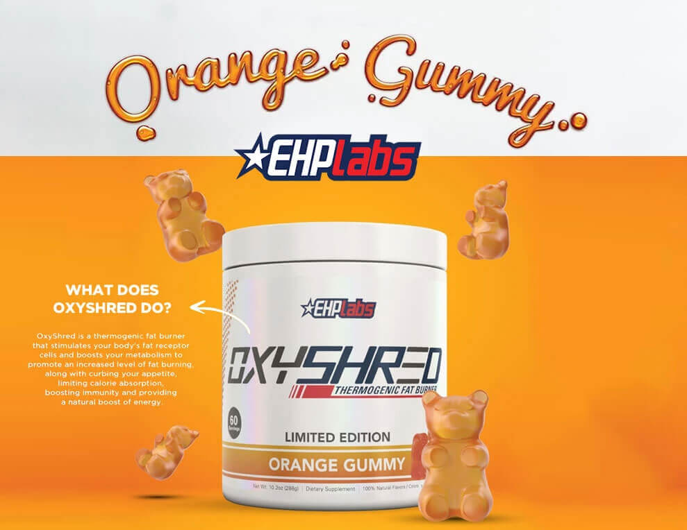 EHP Labs Orange Gummy Limited Edition