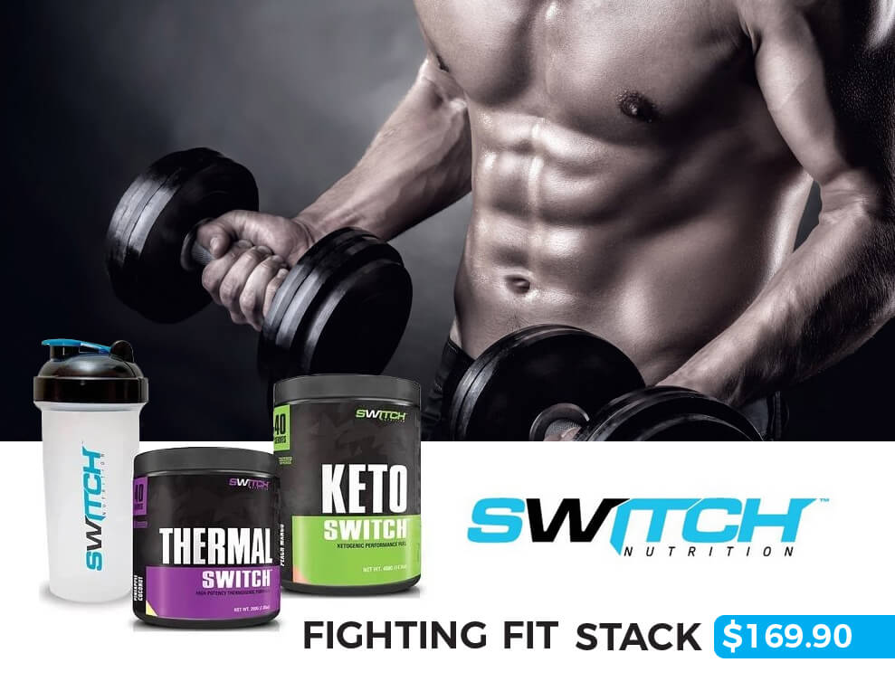 Switch Nutrition Fighting Fit Stack Keto Switch