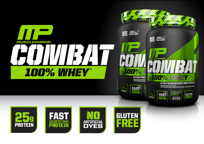 MusclePharm Sports Whey Protein Combat