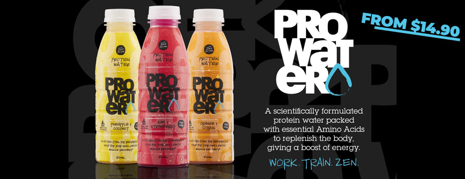 ProWater Protein Water RTD's
