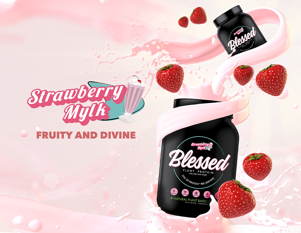 Strawberry EHP Labs Blessed Protein