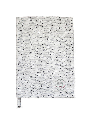 Geschirrtuch Stars in the Sky grau - Tea Towel Krasilnikoff