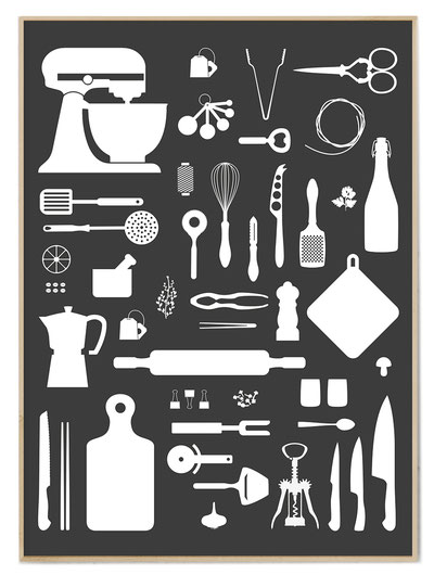 Poster *Kitchen Love