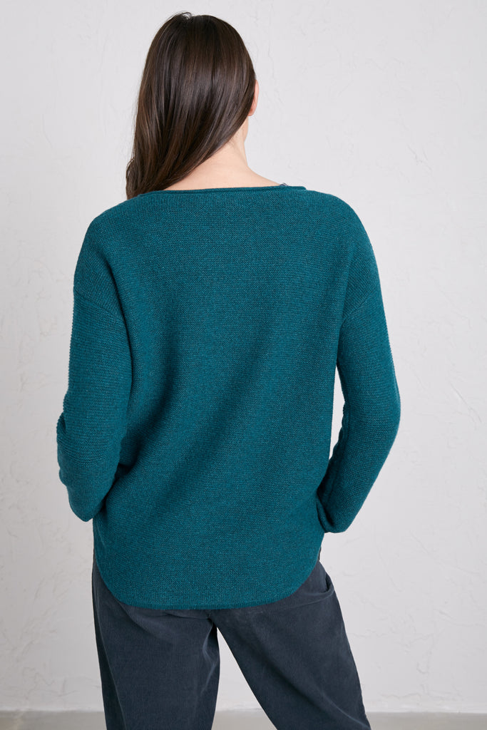 Pullover blau petrol - Fruity Jumper Dark Teal