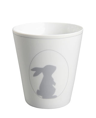 Becher Osterei mit Hase grau - Happy Mug Easteregg with Bunny