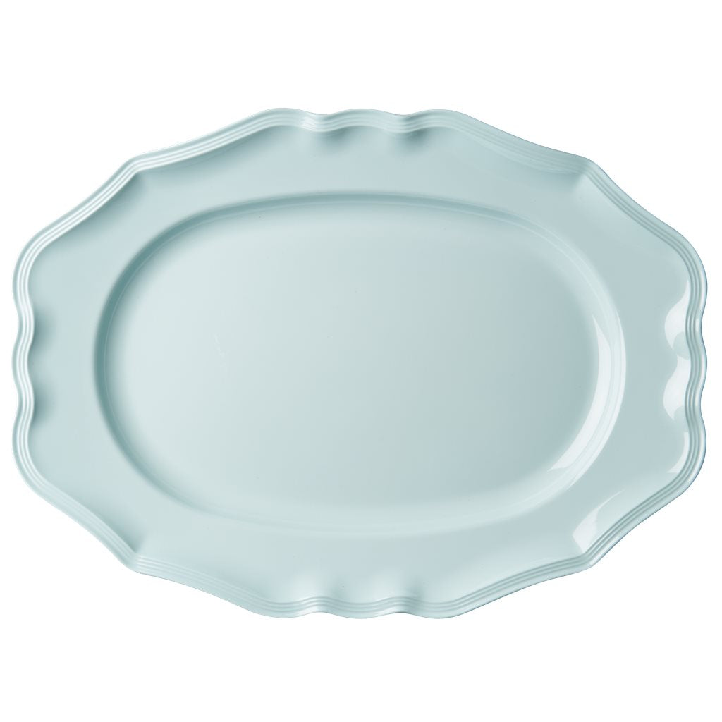 Platte in mint - Melamine Serving Dish in Mint - Large