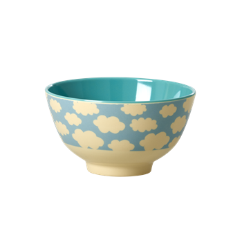 Schüssel Bowl klein Wolkenprint - Bowl small Two Tone Cloud