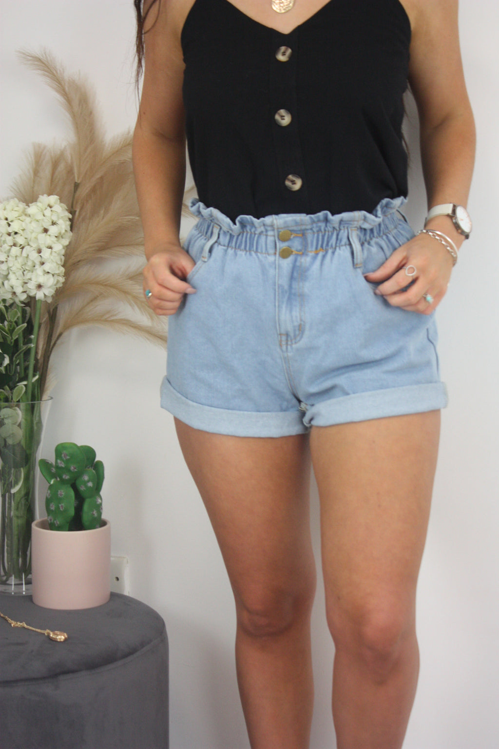 Jordyn Shorts - Denim