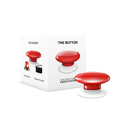 Z-Wave Button (Red)