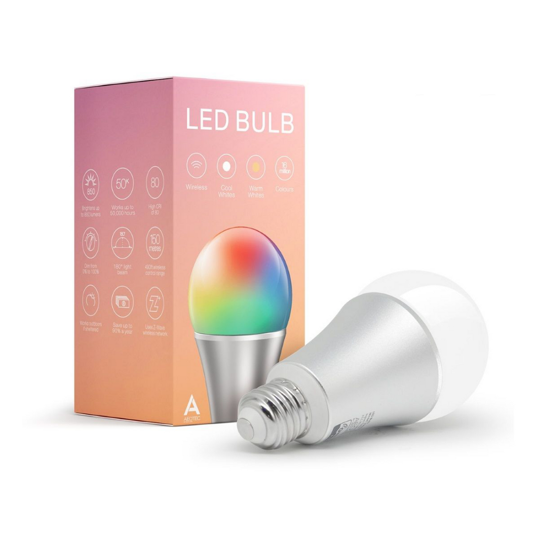 AEOTEC LED colour bulb (Screw mount)
