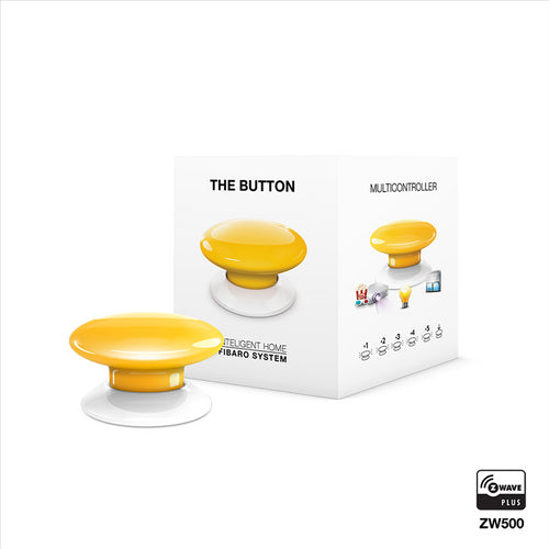 Z-Wave Button (Yellow)