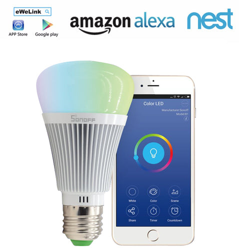 LED Dimmable Lamp Full Colour for Smart Home