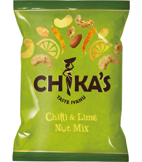 Chika's - Chilli and Lime Nut Mix - Snack Revolution