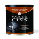 Yorkshire Crisps - Cheddar & Onion 50g drums - Snack Revolution