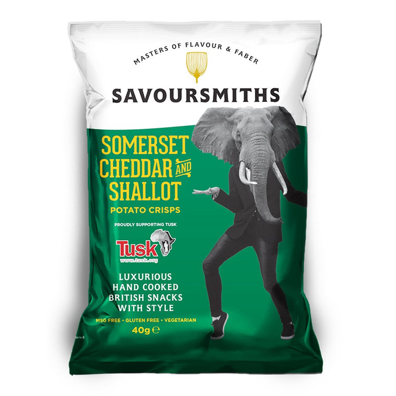 Savoursmiths Somerset Cheddar and Shallot - Snack Revolution