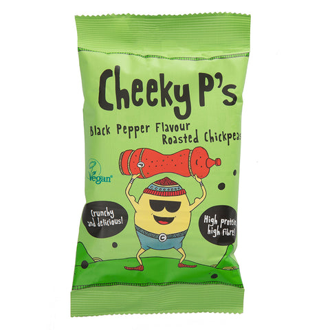 Cheeky P's - Black Pepper Roasted Chickpeas