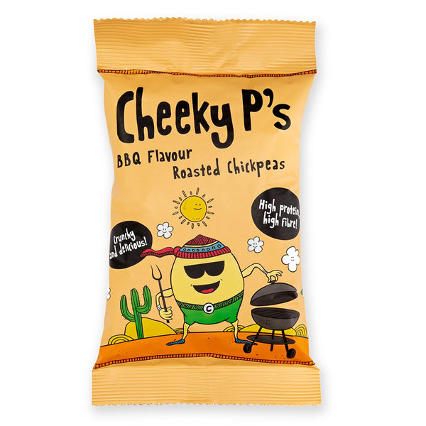 Cheeky P's - BBQ Roasted Chickpeas - ZERO VAT - Snack Revolution