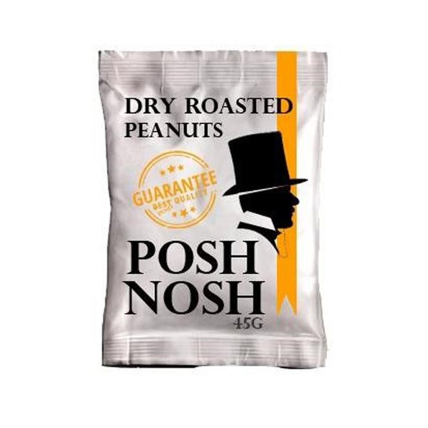 Posh Nosh Dry Roasted Peanuts - Snack Revolution