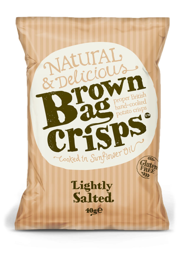 Brown Bag Crisps - Lightly Salted - Snack Revolution