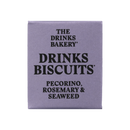 THE DRINKS BAKERY BISCUITS - Pecorino, Rosemary & Scottish Seaweed - 3x8 SRP 20g packs - Snack Revolution